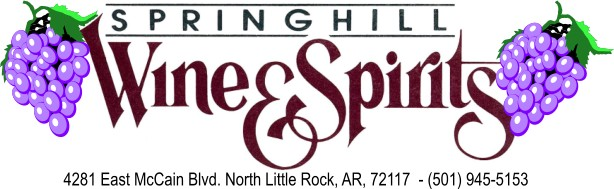 Springhill Wine & Spirits - 4281 East McCain Blvd - North Little Rock, Arkansas 72117 - 501-945-5153
